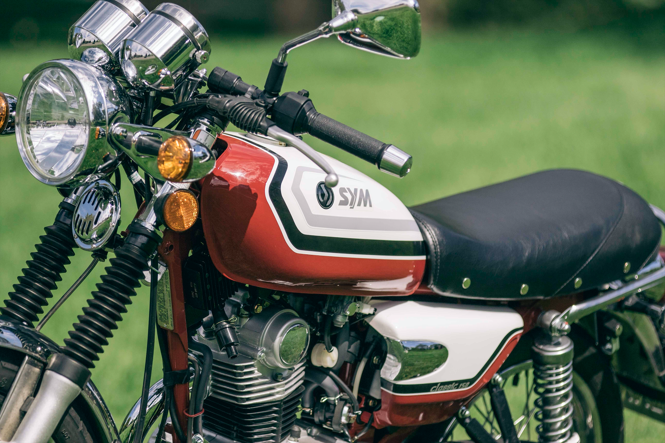 SYM Wolf Classic 150cc - Sideroist