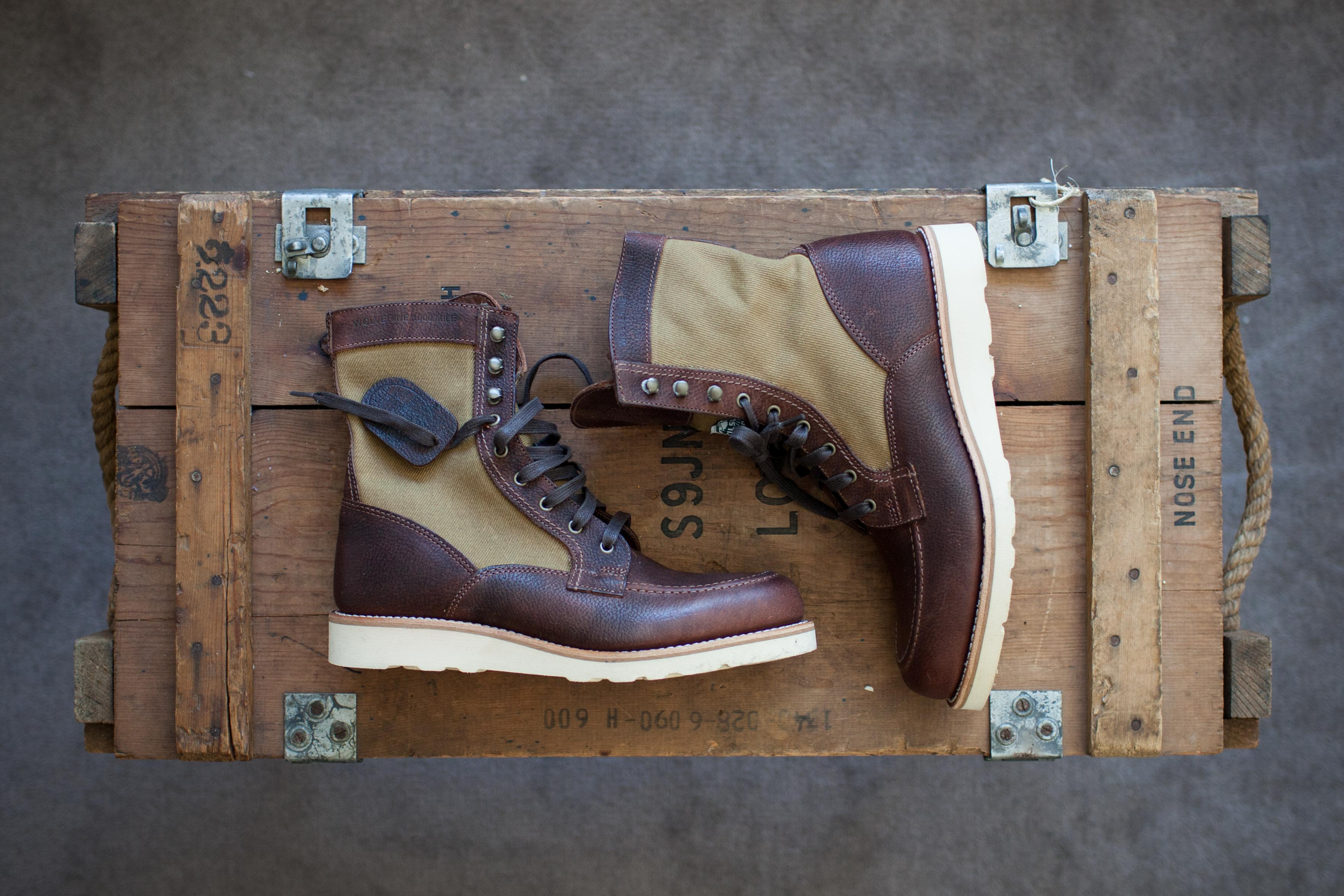 f26babced46 Wolverine 1000 Mile Boots - Sideroist