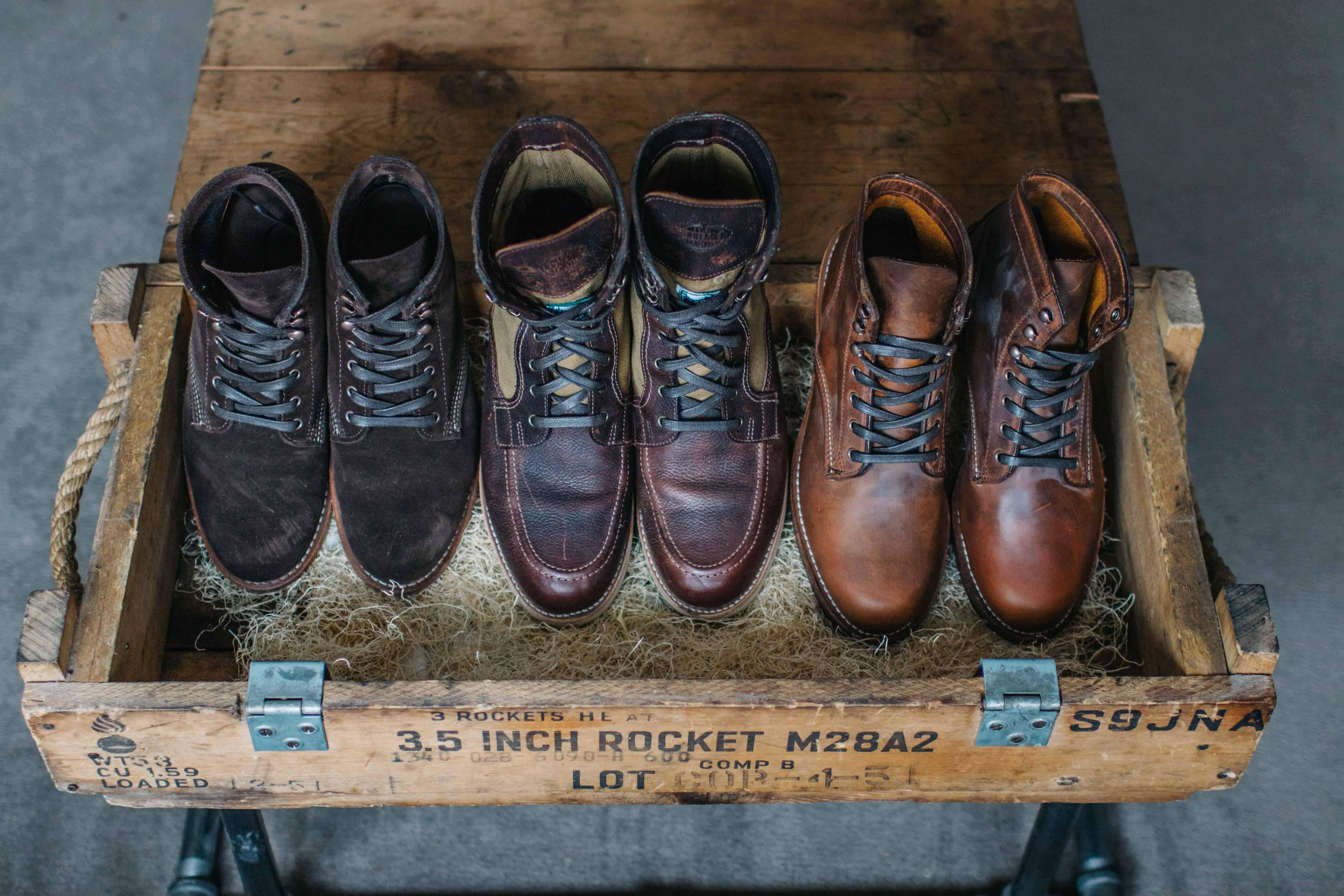 38e35eac7d1 Wolverine 1000 Mile Boots - Sideroist
